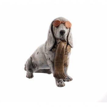 Фигурка декоративная собака, l15 w8 h14 см
