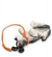 Pr-ruf06 статуэтка собака (roll over! rufus. parastone)
