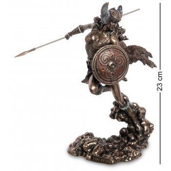 Ws-1049 статуэтка дева-воитильница валькирия