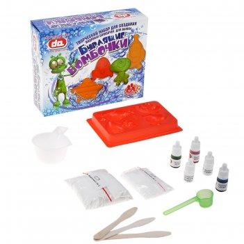 Творческий набор для создания бомбочек для ванны бурлящие бомбочки. инопла