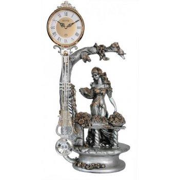 Скульптурные часы из полимерных смол восток к4627–3