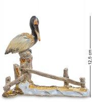 Шкатулка пеликан-визитница