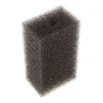 Губка прямоугольная для фильтра №16, ретикулированная, 6,8х4,6х11см