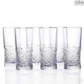 Набор стаканов для воды rcr suol 400мл (6 шт)