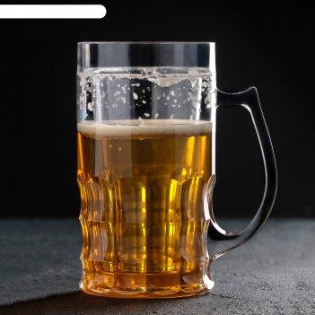 Кружка для пива охлаждающая 600 мл