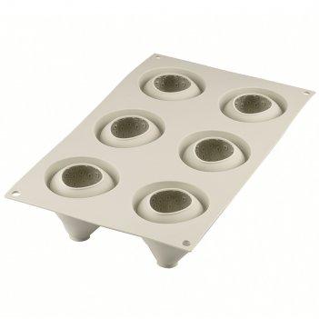 Форма для приготовления пирожных fragole e panna 17 х 30 см силиконовая