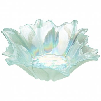 Блюдо глубокое/ваза для фруктов beauty mint 24см  без упаковки (мал 4шт)