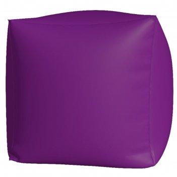 Пуфик куб макси, ткань нейлон, цвет сиреневый