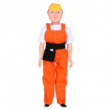 Кукла «дима - строитель», 30 см