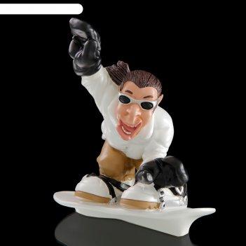 Статуэтка сноубордист