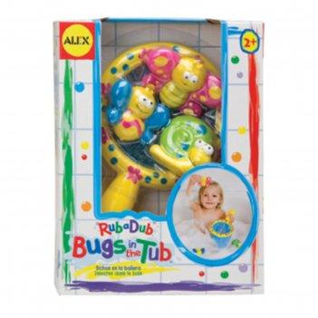 Игрушки для ванны поймай бабочку 4пр., от 2 лет
