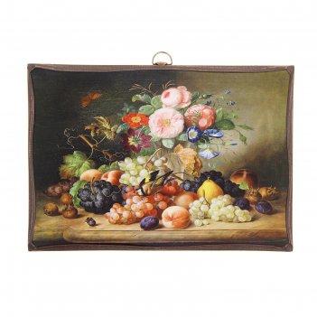 Картина натюрморт с фруктами