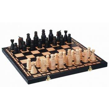 Шахматы сказка (польша, дерево, 50x25x6 см)