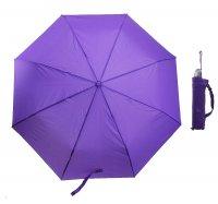 Зонт автомат однотонный, цвет сиреневый