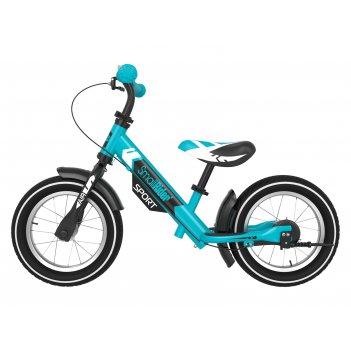 Беговел с 2 тормозами small rider roadster sport 4 air (аква)