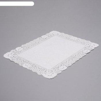Салфетка для торта, прямоугольная, 35 х 45 см