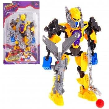 Робот-конструктор герой master
