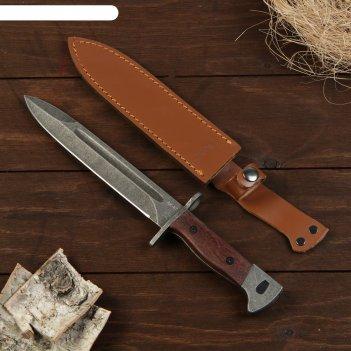 Сувенирный штык-нож, черный клинок