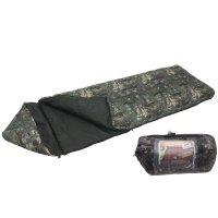 Спальный мешок эко кмф 3-х слойный