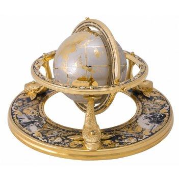 Глобус на  трех китах златоуст