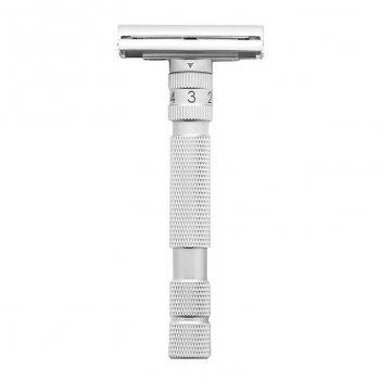 Т-образная бритва rockwell model t, brushed chrome