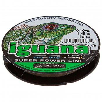 Леска iguana 0.10 30м