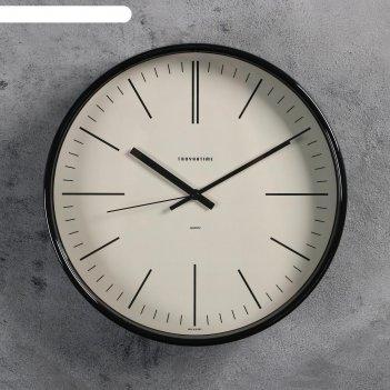 Часы настенные, серия: интерьер эдит d=30.5 см