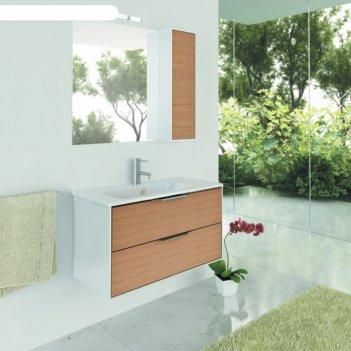 Зеркало-шкаф comforty «сухуми-90» кофе полоска
