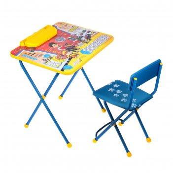 Набор детской мебели щенячий патруль»: стол, стул мягкий