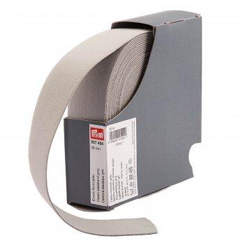 Эластичная лента-пояс 38мм*10м, цвет серый