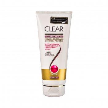 Бальзам-ополаскиватель для волос clear vita abe «восстановление», 180 мл