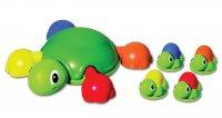 """Игровой набор для ванны """"весёлые черепашки"""" tomy"""