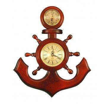 М-06 метеостанция якорь сувенирный, часы