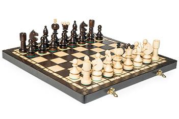 Шахматы жемчужина 42х42см польша