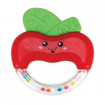 Apple fun погремушка-прорезыватель возраст: от 3 месяцев