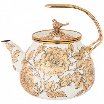 Чайник эмалированный agness, 3,0л