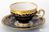 Набор для чая ювел синий 801(чашка160мл.+блюдце) на 6перс.
