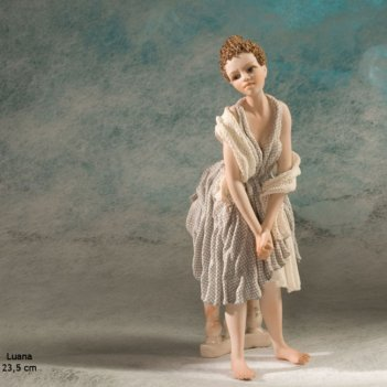 Luana фарфоровая статуэтка, h 23,5 см