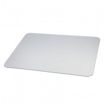 Коврик защитный для напольных покрытий brabix, поликарбонат, 90х120 см, ша