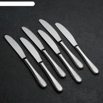 Набор ножей столовых юлия высоцкая, 6 шт, в подарочной упаковке