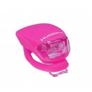 Фонарик hudora led licht shine pink (85068)