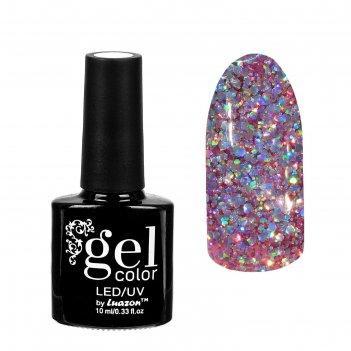 Гель-лак для ногтей искрящийся бриллиант, трёхфазный led/uv, 10мл, цвет 00