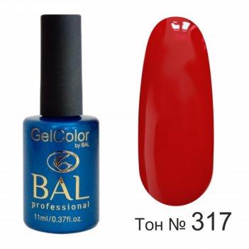 Гель-лак каучуковый bal gelcolor №317, 11 мл