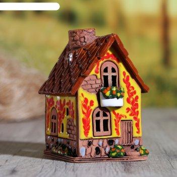 Аромалампа домик татьяна, ручная работа, микс