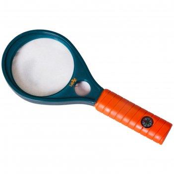 Лупа с компасом levenhuk labzz mg1