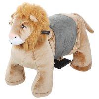 Зоомобиль лев, с аккумулятором