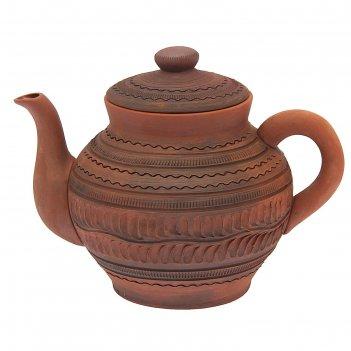Чайник большой с рисунком 2л
