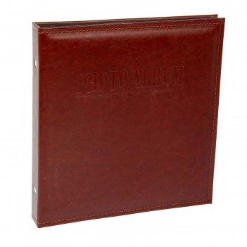 Фотоальбом магнитный на 20 листов в коробке обычность