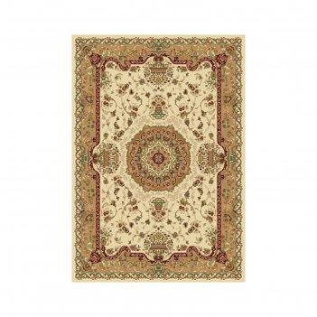 Прямоугольный ковёр buhara d037, 80 х 140 см, цвет cream