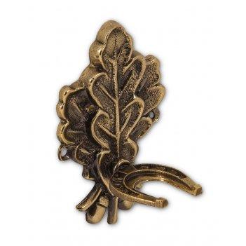 Крючок дубовый лист для обувного рожка
